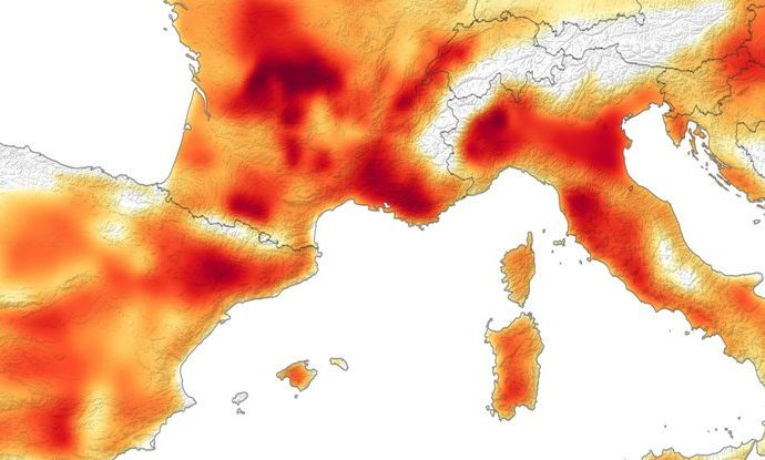 """Last Month Just """"Obliterated"""" Temperature Records as The Hottest June to Date"""