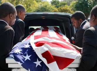 WWII D-Day Vet Had No one to Carry Casket After He Died, Then 6 Teens Arrived in Uniform