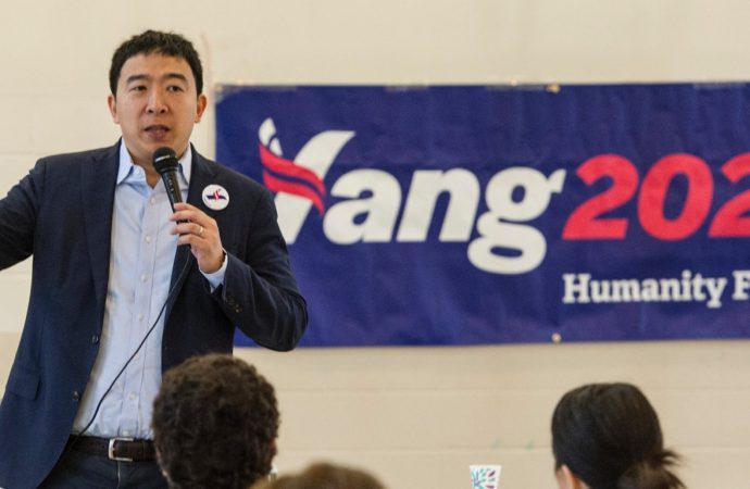 Andrew Yang supports geoengineering, but says it could lead to war