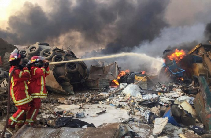 Beirut death toll rises to at least 135 as explosion is blamed on 2,750-ton ammonium nitrate stash