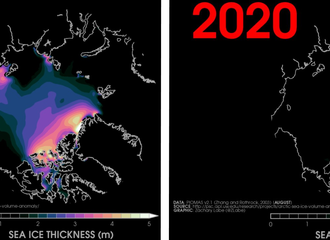 Temperatures in the Arctic are astonishingly warmer than they should be
